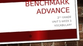 Benchmark Advance Grade 2 Unit 5 Week 2 Vocabulary PowerPoin3