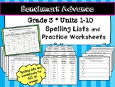 Benchmark Advance* Grade 3 Spelling Lists and Practice Wor
