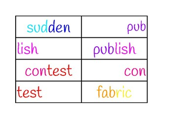 Benchmark Advance Grade 4: Review and Routines: Day 4 Word Work