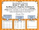 Benchmark Advance* Grade 4 Spelling Lists and Practice Worksheets Units 1-10