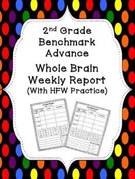 Benchmark Advance HFW Sentence Writing (2nd Grade)