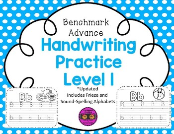 Benchmark Advance Handwriting Practice Level 1