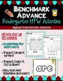 Benchmark Advance Kindergarten High Frequency Word Activities (B.A. Companion)