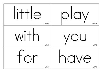 Benchmark Advance Grade 1 High Frequency Word cards- all 10 units