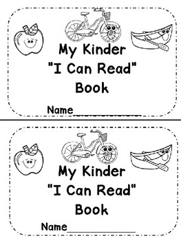 """3j. Benchmark Advance """"I Can Read"""" Emergent ABC Student Book"""