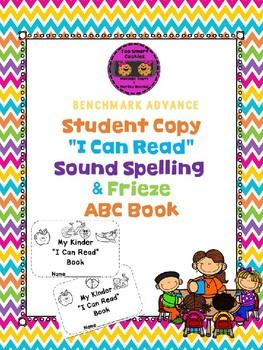 "3j. Benchmark Advance ""I Can Read"" Sound Spelling & Frieze ABCs"