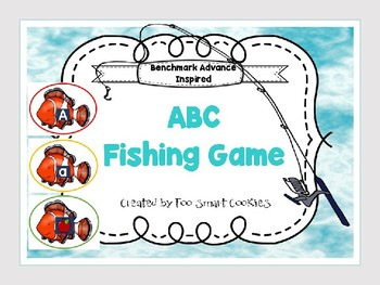 Benchmark Advance Kindergarten ABC Fishing Game