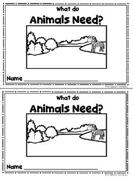Benchmark Advance Kinder Emergent Book Unit 3 What Do Animals Need?