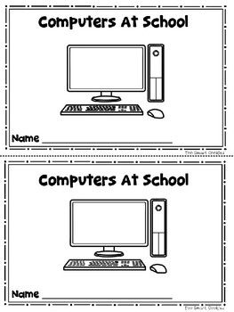 Benchmark Advance Kinder Emergent Book Unit 5 Computers At School