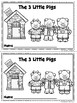 Benchmark Advance Kinder Emergent Book Unit 6 The 3 Little Pigs