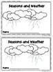 Benchmark Advance Kinder Emergent Book Unit 8 Seasons and Weather