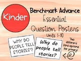 Benchmark Advance Kinder Essential Question Posters