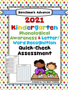 Benchmark Advance Kinder Foundational Skills Quick-Check Bundle