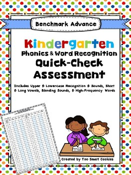 Benchmark Advance Kinder Phonics & Word Recogniton Quick-Check (part 2)
