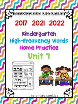 Benchmark Advance Kinder Unit 7 HFW Reading & Home Practice