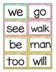 Benchmark Advance Kinder Word Wall Cards