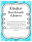 Benchmark Advance Kinder Word Wall Cards