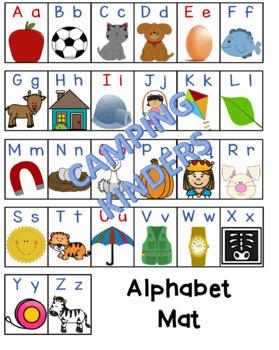 Benchmark Advance Kindergarten Alphabet Mat