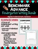 Benchmark Advance Kindergarten Daily Writing Journals -Units 1-10(B.A.Companion)