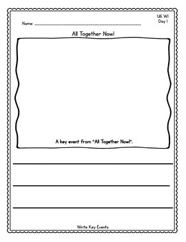 Benchmark Advance Kindergarten Daily Writing Journals -Units 1-10(B.A.Companion)