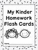3e. Benchmark Advance Kinder High Frequency Homework Flash Cards (Units 1-10)