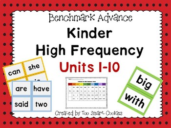 3g. Benchmark Advance Kinder High-Frequency Units 1-10