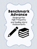 Benchmark Advance Kindergarten High Frequency & Spelling A