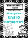 1j. Benchmark Advance Kindergarten Morning Work Unit 10