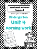 Benchmark Advance Kindergarten Morning Work Unit 4