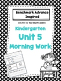 1e. Benchmark Advance Kindergarten Morning Work Unit 5