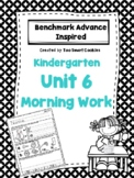 1f. Benchmark Advance Kindergarten Morning Work Unit 6