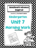 1g. Benchmark Advance Kindergarten Morning Work Unit 7
