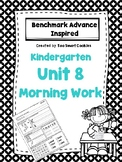 1h. Benchmark Advance Kindergarten Morning Work Unit 8