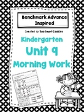 1i. Benchmark Advance Kindergarten Morning Work Unit 9