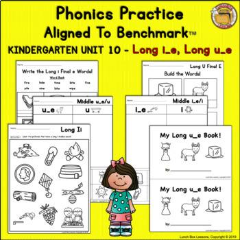 Benchmark Advance© Kindergarten - Unit 10 Phonics Practice