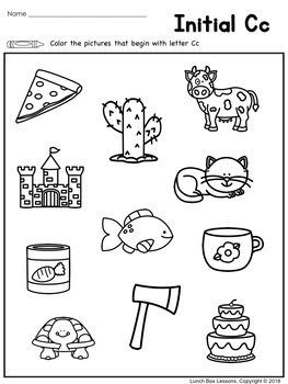 Benchmark Advance© Kindergarten - Unit 4 Phonics Practice