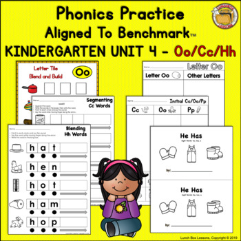 Benchmark Advance© Kindergarten - Unit 4 Phonics Practice