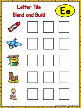 Benchmark Advance© Kindergarten - Unit 6 Phonics Practice