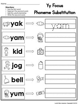 Benchmark Advance© Kindergarten - Unit 8 Phonics Practice