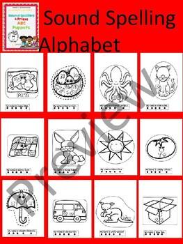 3K. Benchmark Advance Letter Puppets (frieze & sound spelling alphabet)
