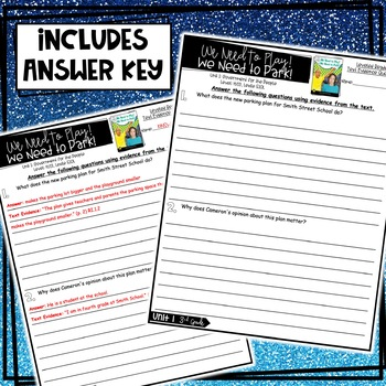 Benchmark Advance, Leveled Reader Companion Pages, 3rd Grade, Unit 1, FREEBIE!