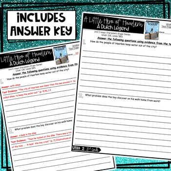 Benchmark Advance, Leveled Reader Companion Pages, 3rd Grade, Unit 2!