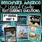 Benchmark Advance, Leveled Reader Companion Pages, 4th Gra