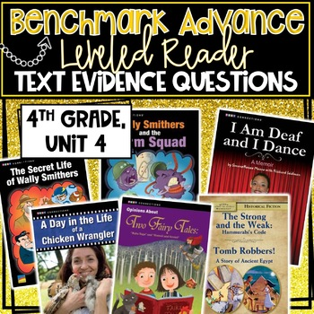 Benchmark Advance, Leveled Reader Companion Pages, 4th Grade, Unit 4!