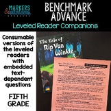 Benchmark Advance Leveled Reader Companions for Fifth Grad