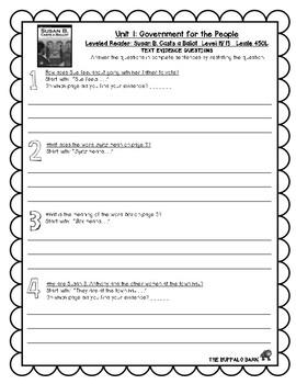 Benchmark Advance (3rd) Leveled Reader Questions BUNDLE- 3rd (THIRD) Grade
