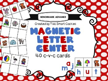 5m. Benchmark Advance Magnetic Letter C-V-C Center (Sound Spelling & Frieze)