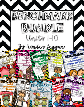 Benchmark Advance Mega Pack Units 1-10 by Kinder League