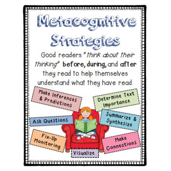 Benchmark Advance Metacogntive Strategy Posters