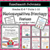 Benchmark Advance Metacognitive Strategy Posters